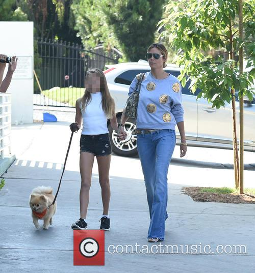Heidi Klum and daughter in LA