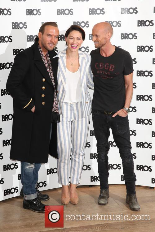 Matt Goss, Emma Willis and Luke Goss