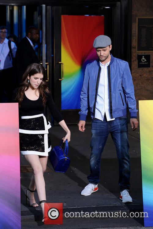 Anna Kendrick and Justin Timberlake 3