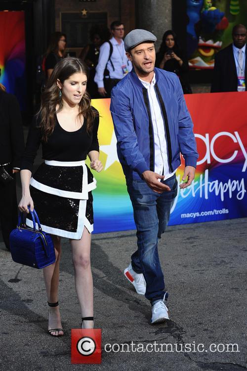 Anna Kendrick and Justin Timberlake 6