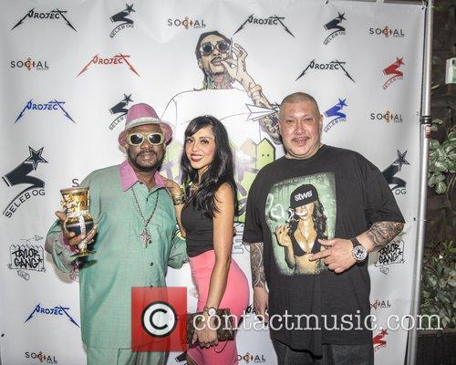 Wiz Khalifa and Bishop Don Magic Juan party...