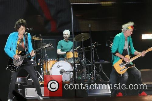 Ronnie Wood, Charlie Watts and Keith Richards 2