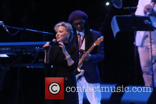 Bette Midler and Nile Rodgers 5