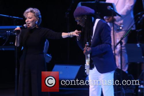 Bette Midler and Nile Rodgers 7