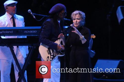 Bette Midler and Nile Rodgers 8