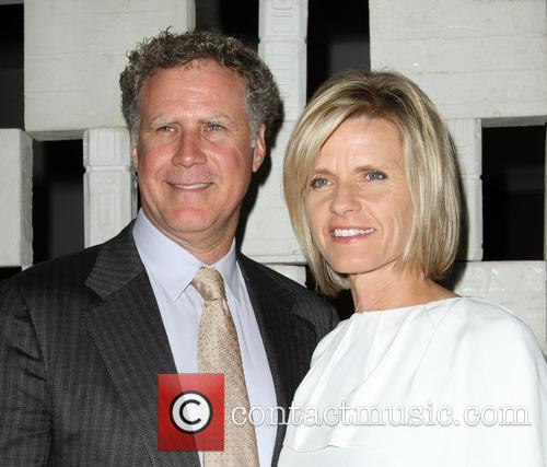 Will Ferrell and Wife Viveca Paulin 2