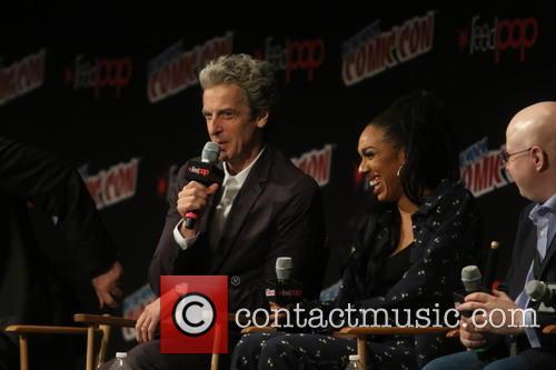 Peter Capaldi and Pearl Mackis 4
