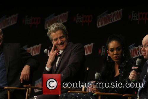 Peter Capaldi and Pearl Mackis 5