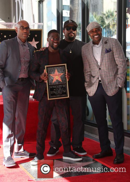 Kevin Hart, Ice Cube, Will Packer and Tim Story 3