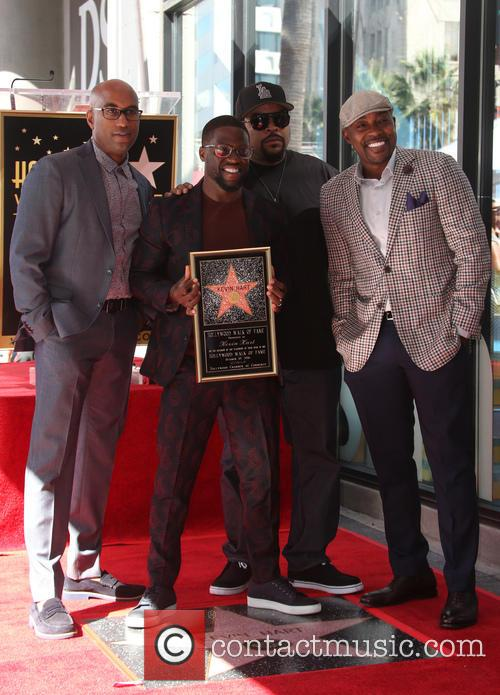 Kevin Hart, Ice Cube, Will Packer and Tim Story 4