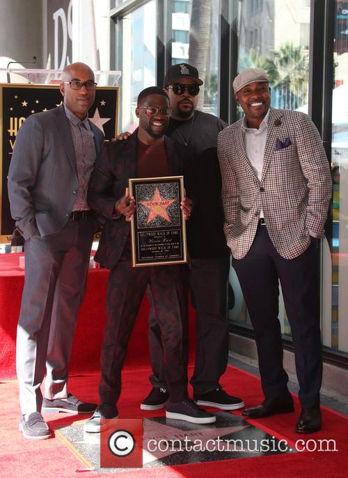 Kevin Hart, Ice Cube, Will Packer and Tim Story 6