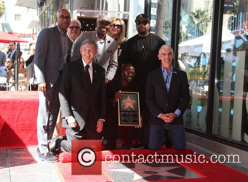 Kevin Hart, Ice Cube, Will Packer, Tim Story, Leron Gubler and Mitch O'farrell