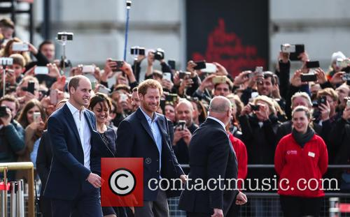 Prince William, Duke Of Cambridge and Prince Harry 1