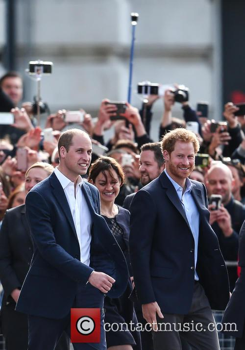 Prince William, Duke Of Cambridge and Prince Harry 2