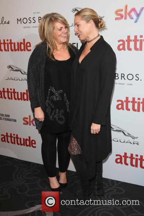 Sally Lindsay and Samantha Womack