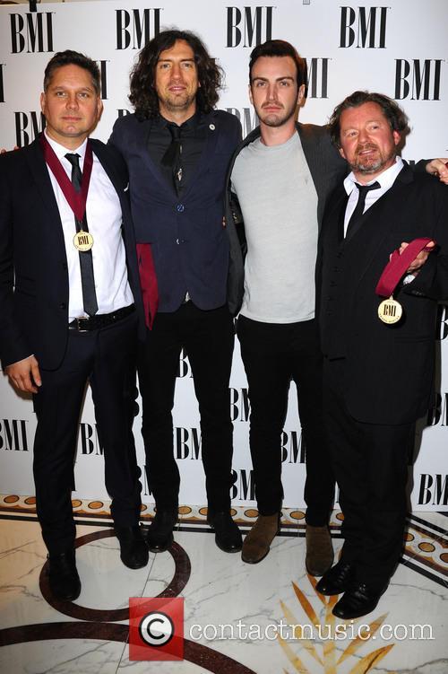 Snow Patrol at the BMI London Awards
