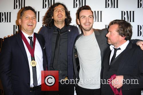 Snow Patrol, Paul Wilson, Jonny Quinn and Gary Lightbody 4