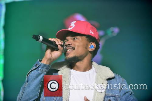 Chance The Rapper performing live onstage