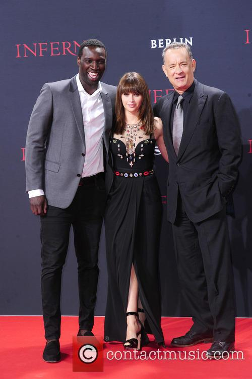 Omar Sy, Felicity Jones and Tom Hanks 5
