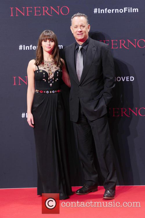 Felicity Jones and Tom Hanks 2