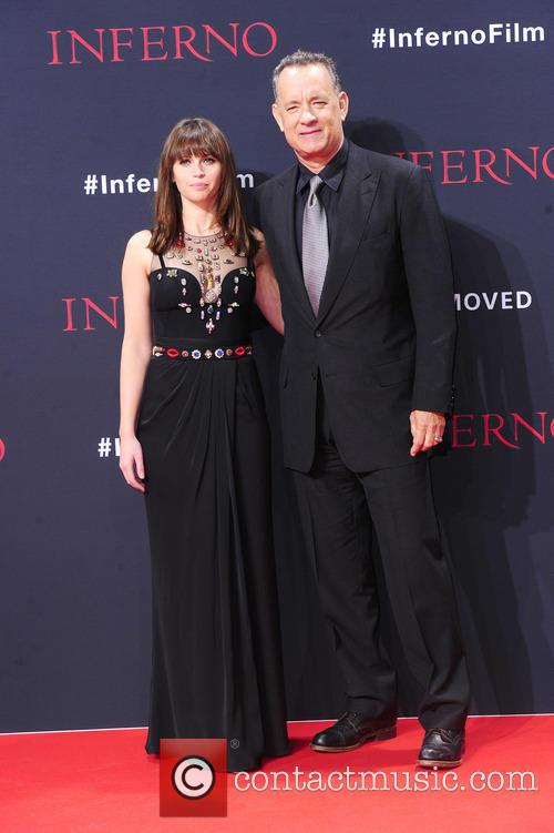 Felicity Jones and Tom Hanks 3