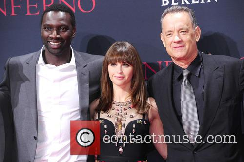 Omar Sy, Felicity Jones and Tom Hanks 6