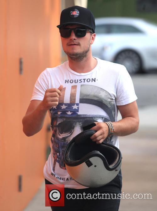 Josh Hutcherson also stars in the upcoming flick