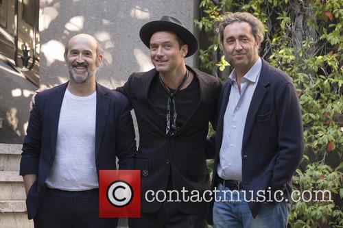 Paolo Sorrentino, Jude Law and Javier Camara 1