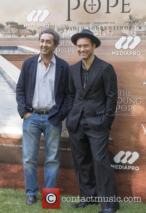 Paolo Sorrentino and Jude Law 3