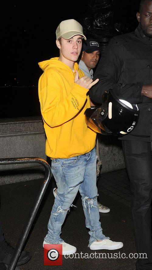 Justin Bieber takes the scenic route to his...