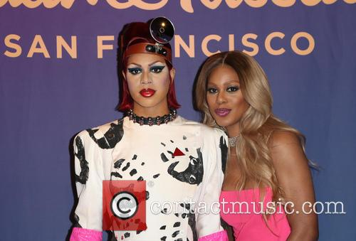 Laverne Cox to reveal her wax double restyled...