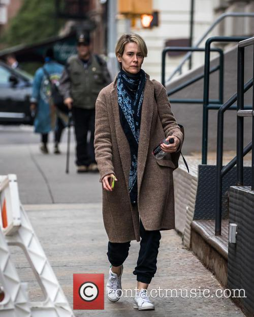 Sarah Paulson out and about