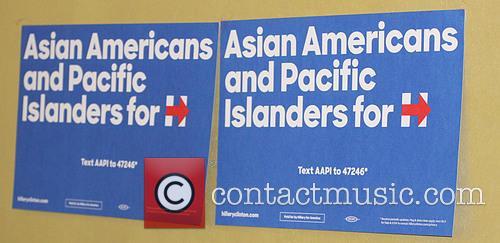 B D Wong and Hillary Clinton 5