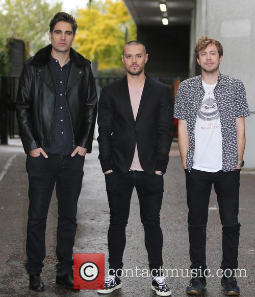 Busted, Charlie Simpson, Matt Willis and James Bourne 1