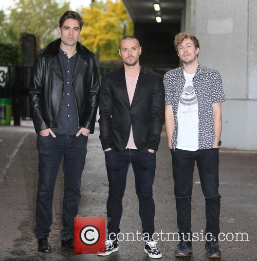 Busted, Charlie Simpson, Matt Willis and James Bourne 4