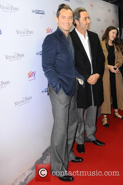 Jude Law and Paolo Sorrentino 1