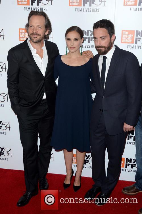 Peter Sarsgaard, Natalie Portman and Noah Oppenheim 8