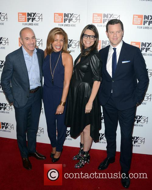 Matt Lauer, Hoda Kotb, Savannah Guthrie and Willie Geist 2