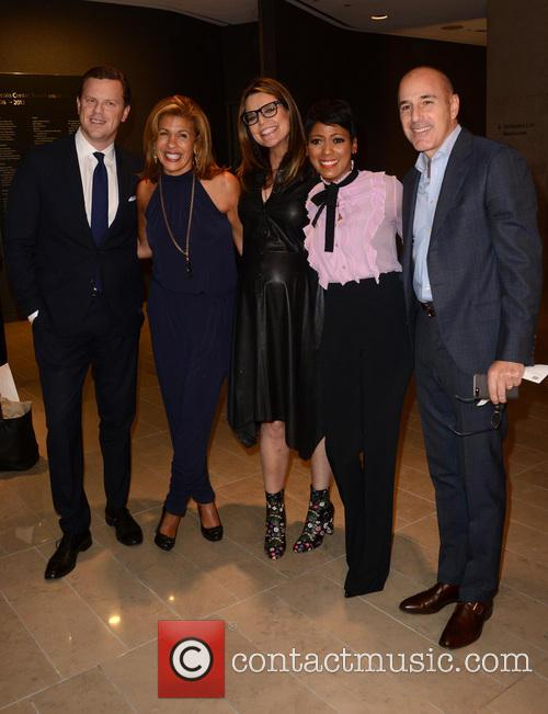 Willie Geist, Hoda Kotb, Savannah Guthrie, Tamron Hall and Matt Lauer 2