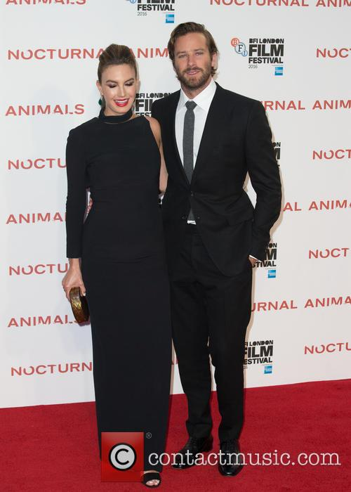 Armie Hammer and Elizabeth Chambers 6