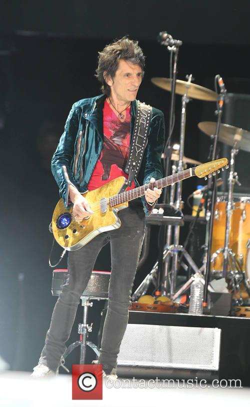 Ronnie Wood and The Rolling Stones 1