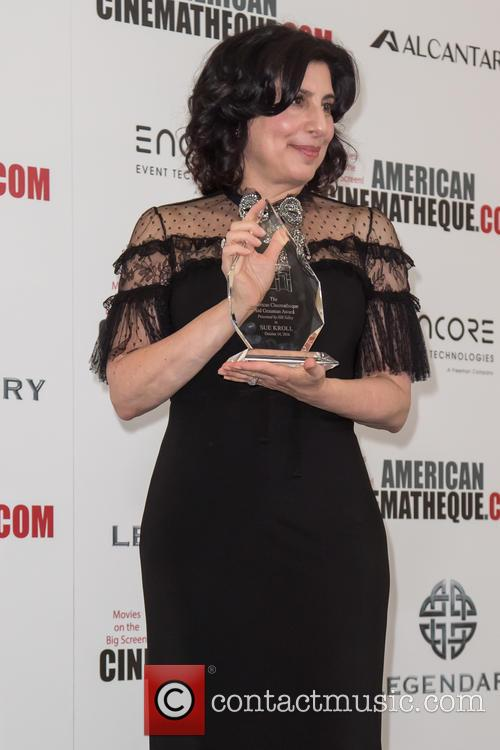 Honoree Sue Kroll and Sid Grauman Award Recipient 1