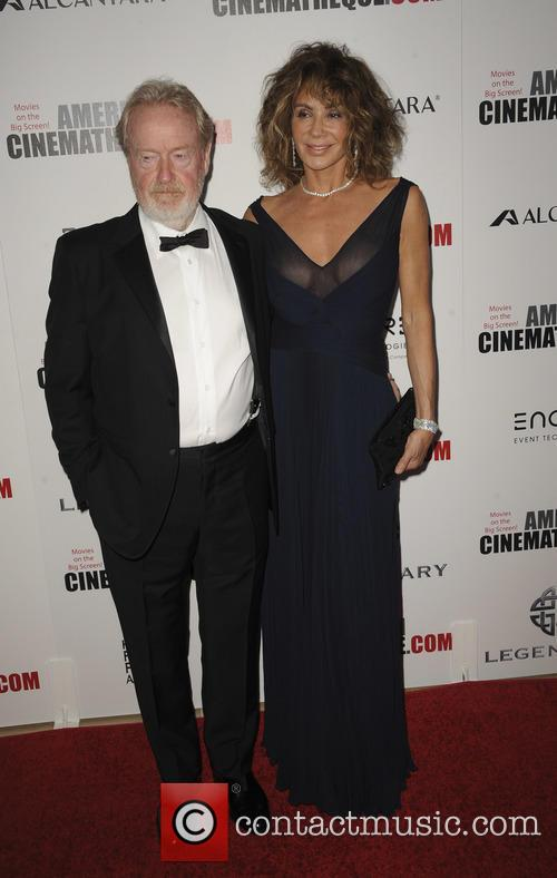Ridley Scott and Giannina Scott 2