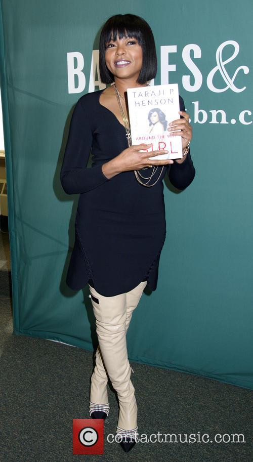 Taraji P Henson Book Signing BN