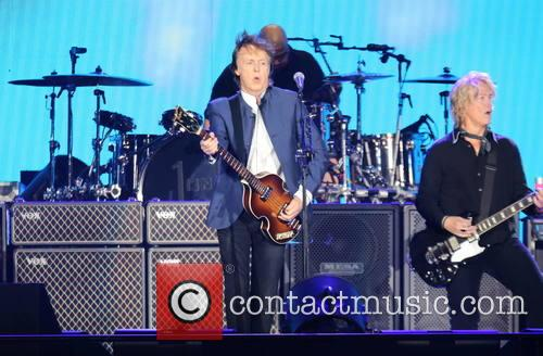 Paul Mccartney and Brian Ray 6