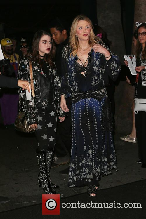 Frances Bean Cobain and Courtney Love 2