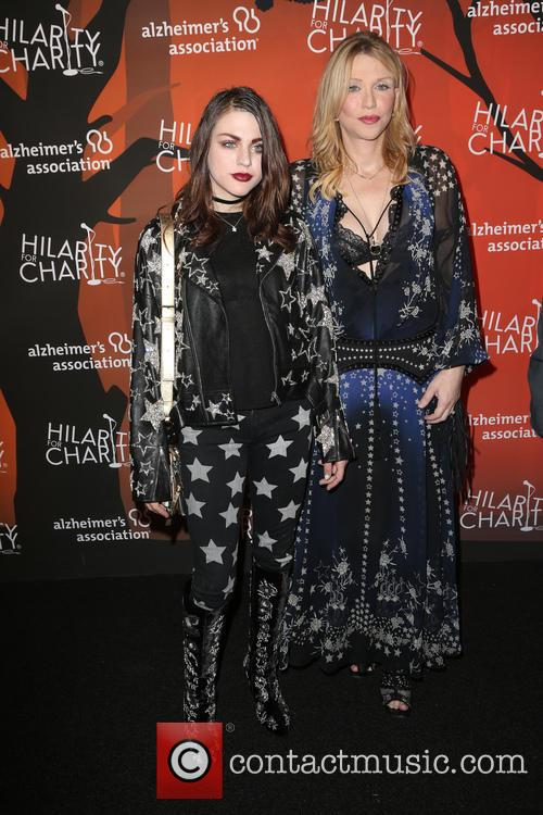 Frances Bean Cobain and Courtney Love 3