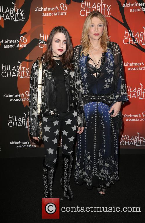 Frances Bean Cobain and Courtney Love 4