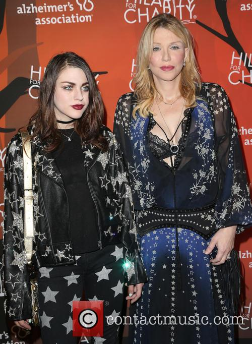 Frances Bean Cobain and Courtney Love 6