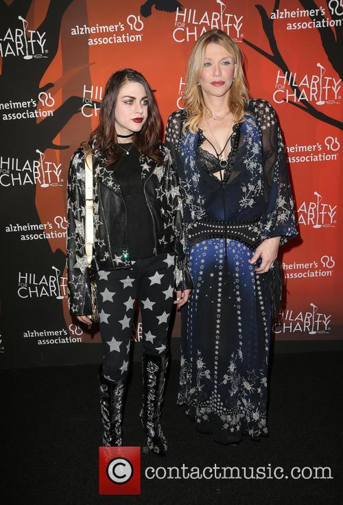 Frances Bean Cobain and Courtney Love 7